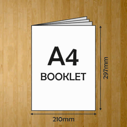 A4 BOOKLET